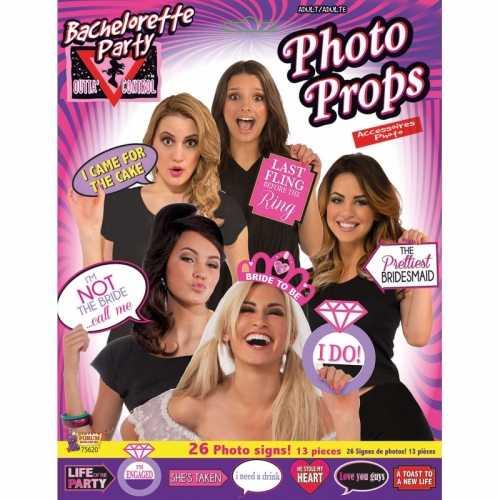 Bachelorette fotoprops 13 delig