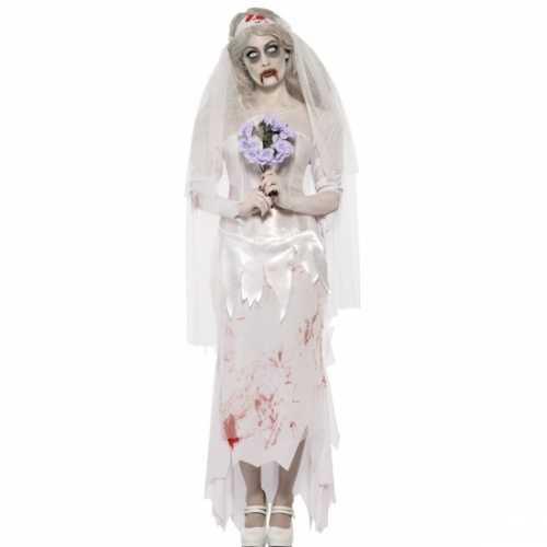 Bruid verkleedkleding halloween