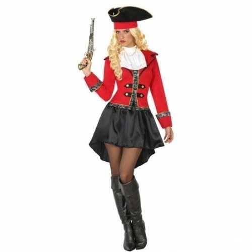 Carnaval piraten verkleedkleding kapitein grace dames