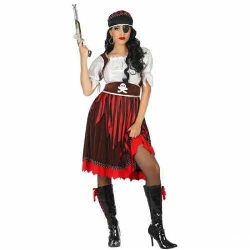 Carnaval piraten verkleedkleding rachel heren