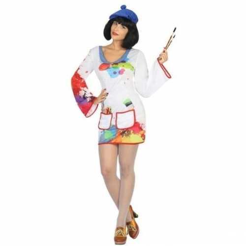 Carnaval schilder verkleedkleding dames