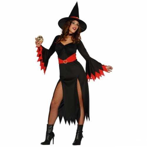 Carnavalsverkleedkleding heksen jurk dames