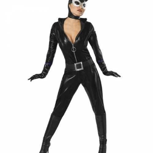 Catwoman dames verkleedkleding