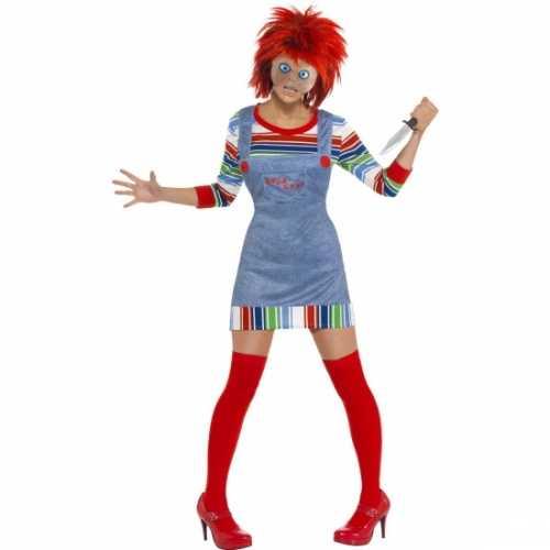 Chucky verkleedkleding dames