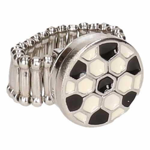Chunkring zilveren voetbal volwassenen