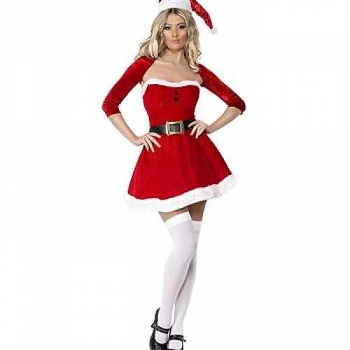 Compleet kerst jurkje bolero
