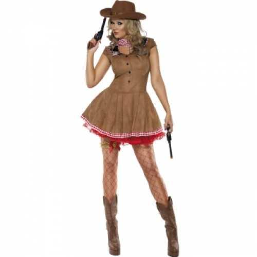 Cowgirl verkleedkleding dames
