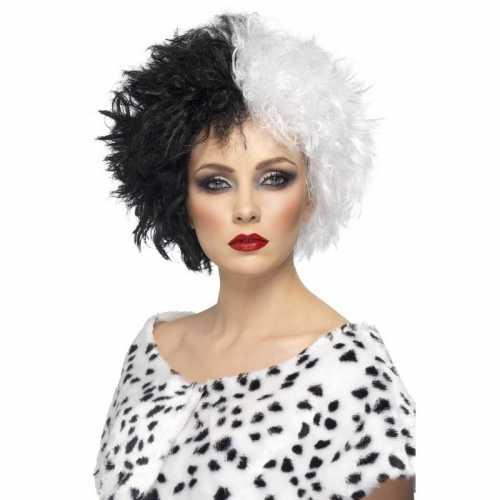 Cruella pruik dames