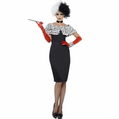 Cruella verkleedkleding dames