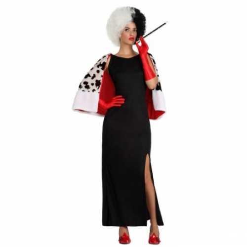 Dalmatier cruel lady verkleedkleding vrouwen