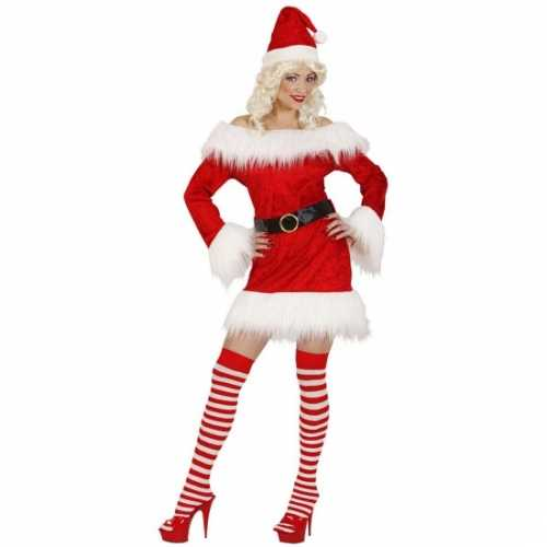 Dames kerstjurkje fluweel