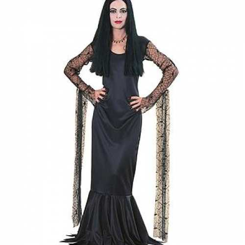 Dames morticia jurk