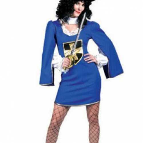 Dames musketier jurkje