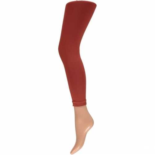 Dames party legging 200 den donker rood