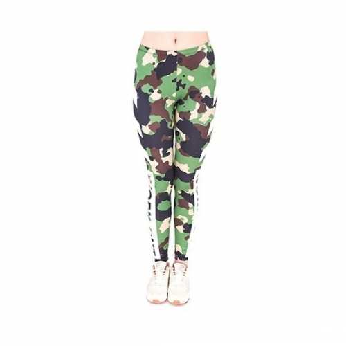 Dames party legging army thema