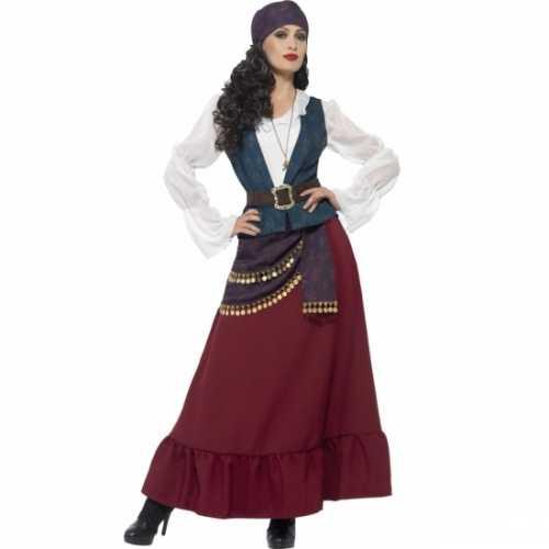 Dames piraat verkleedkleding