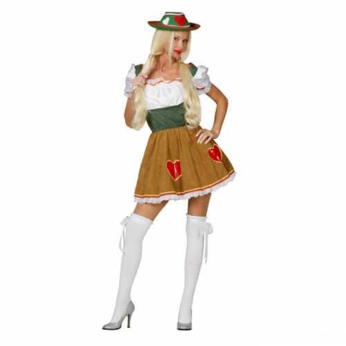Dames verkleedkleding Heidi