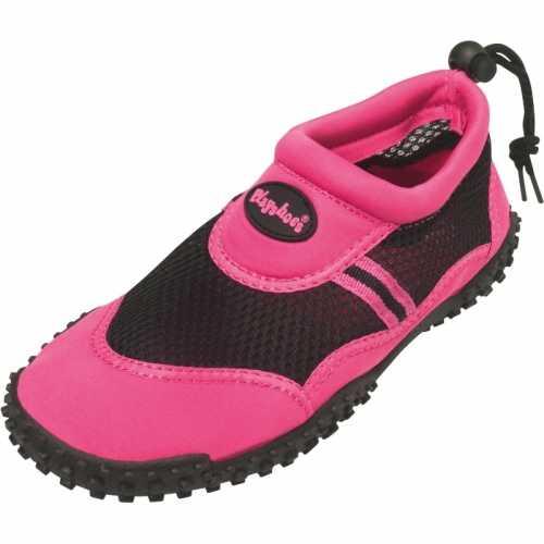 Dames waterschoen roze trekkoord