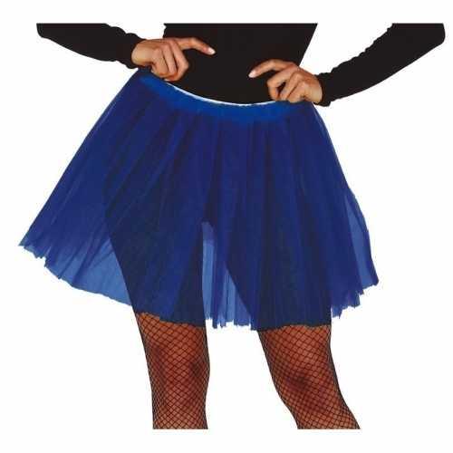 Donkerblauwe verkleed petticoat dames 40
