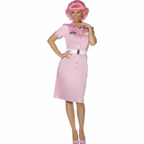 Drop out dames verkleedkleding Frenchy