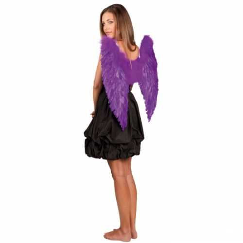 Engelen vleugels paars