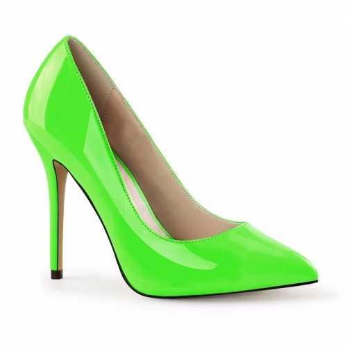 Feest glow in the dark schoenen groen dames