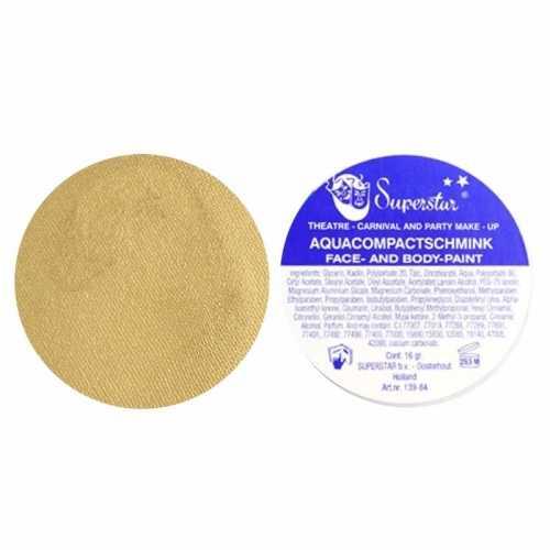 Gouden aqua schmink