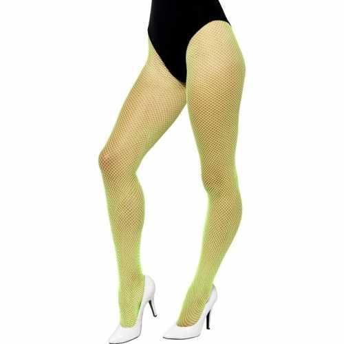Groene gaatjes dames panty