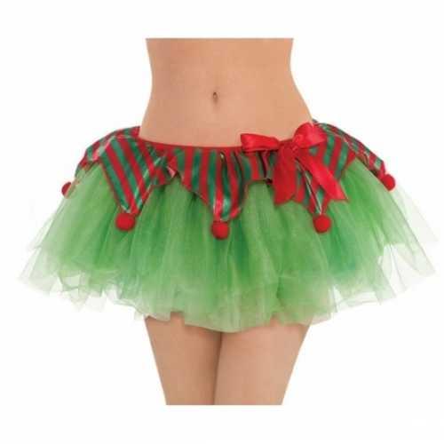 Groene kerst tutu vrouwen