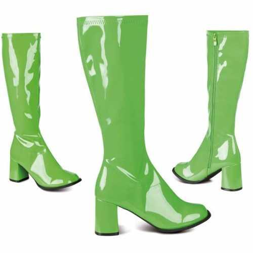 Groene retro laarzen