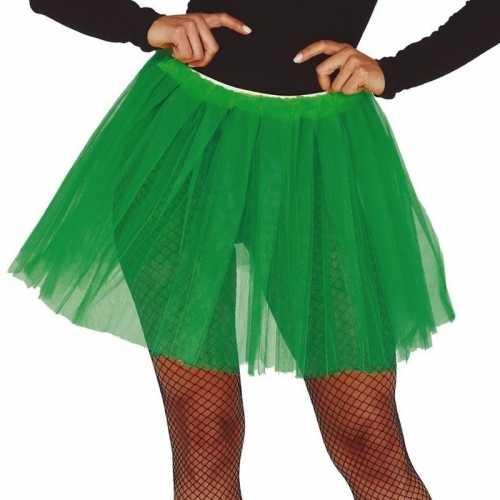 Groene verkleed petticoat dames 40