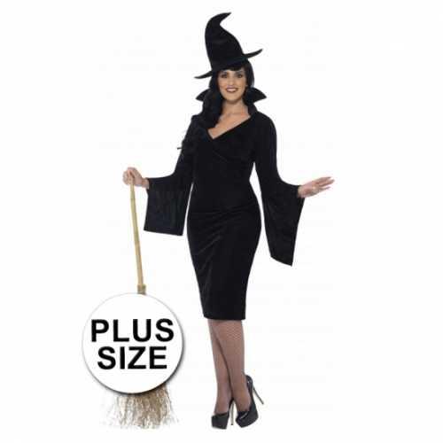Grote maten heksen verkleedkleding