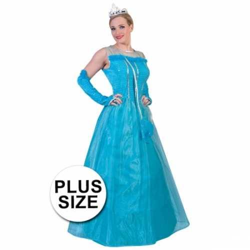 Grote maten verkleedkleding prinsessenset volwassenen