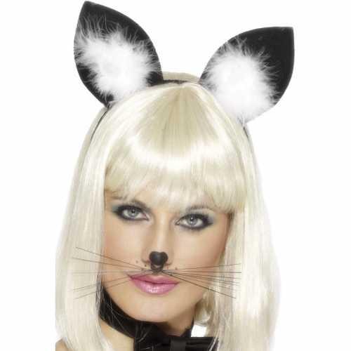 Haarband katten/poezen oren dames