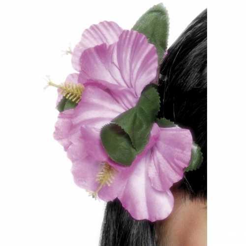 Haarbloemen klip roze