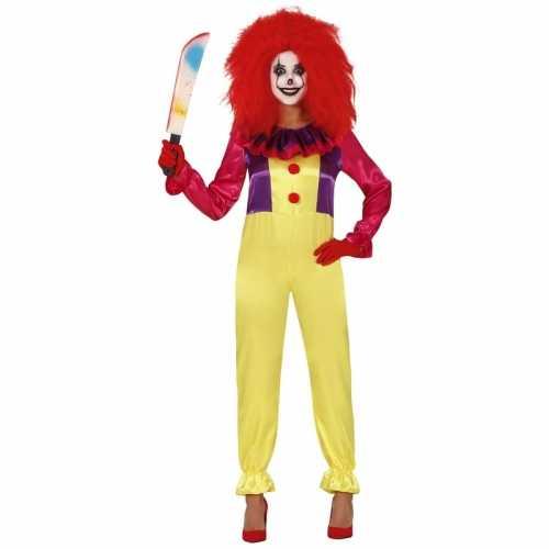 Halloween clown verkleedpak dames