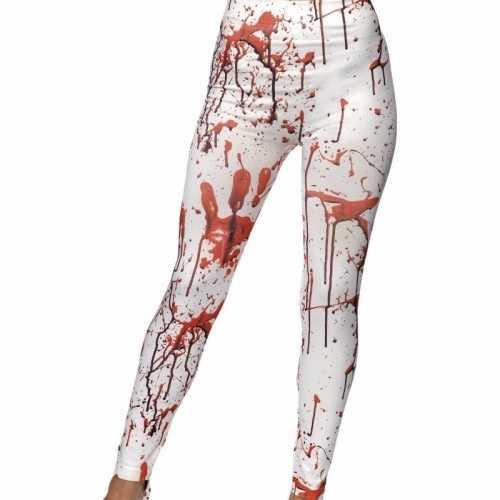 Halloween dames leggings bloed