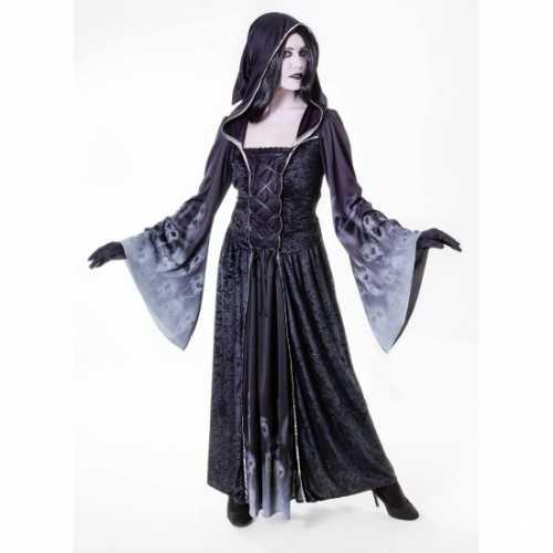 Halloween dames verkleedkleding Forgotten souls