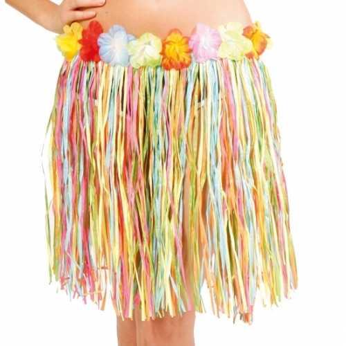 Hawaii rok gekleurd dames 45