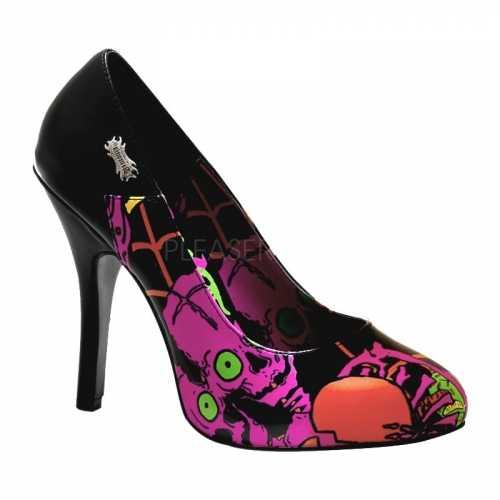 Horror dames hakken zombie thema