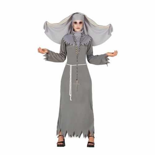 Horror non spook verkleedkleding grijs