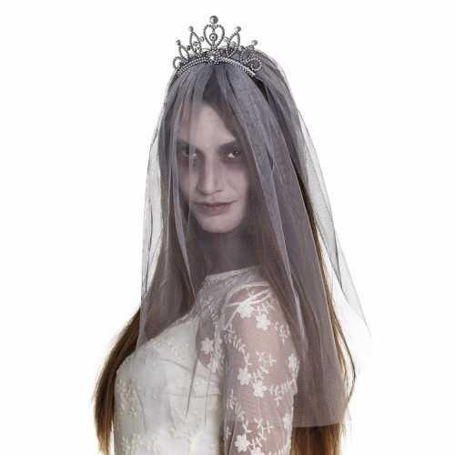 Horror prinsessen haarband sluier