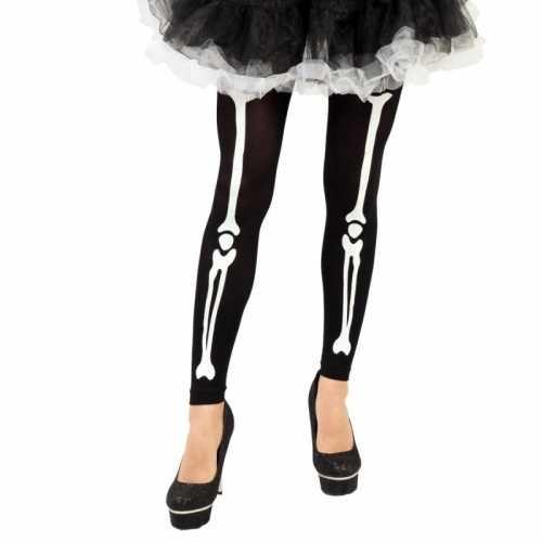 Horror skelet legging botten