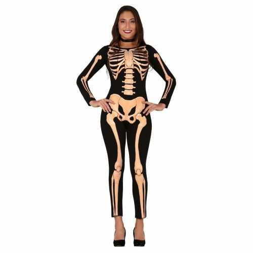 Horror skelet verkleed pak/verkleedkleding dames