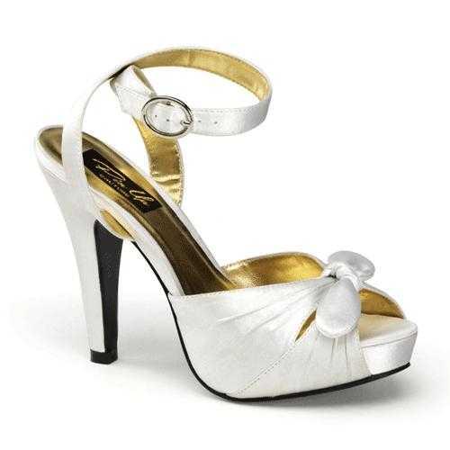 Ivoorwitte sandalen dames