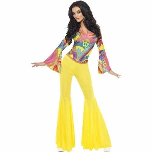 Jaren 60/70/hippie verkleedkleding dames