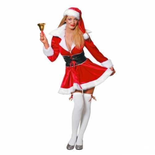Kort kerst jurkje vrouwen