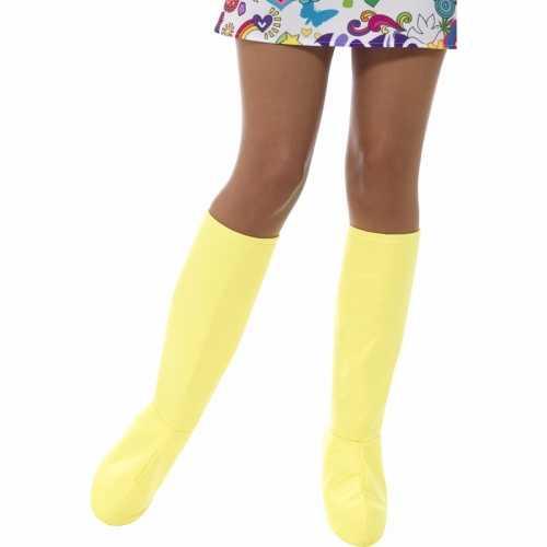 Laarshoezen geel dames