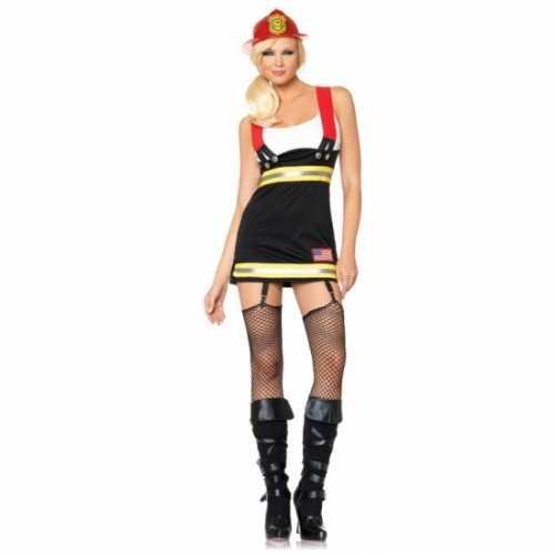 Leg Avenue brandweer dames verkleedkleding
