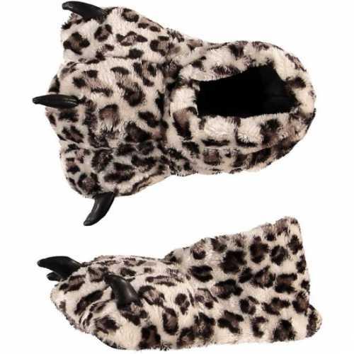 Luipaard poot sloffen dames